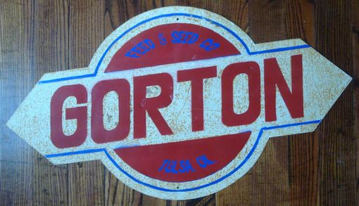 Custom Made Custom Rustic Metal Signs