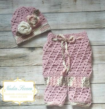 Custom Made Crochet 2 Piece Romper