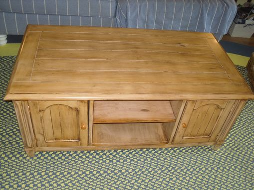 Custom Made Coffee Table Refinish