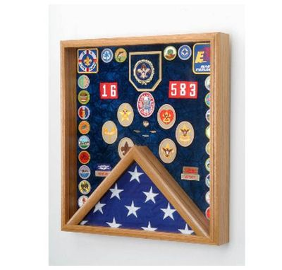 Custom Made Scout Flag Display, Scout Display Case, Scout Gift