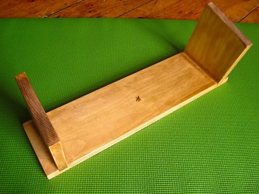 Custom Made Meditation Bench Om Symbol