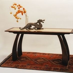 Hall Or Sofa Table With An Asian Flavor By Chris Holly Barbo