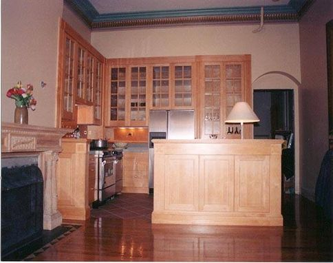 Custom Made Boston Brownstone Library