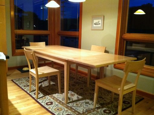 Custom Made Mid Century Modern Extension Table