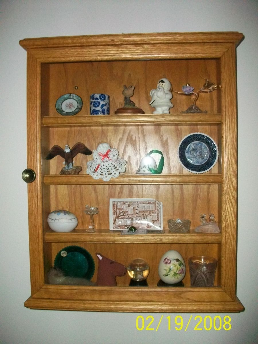 Custom Knick Knack Display Case by Kb Workshop | CustomMade.com