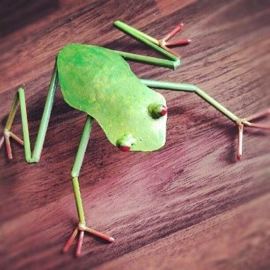 Custom Made The Frog