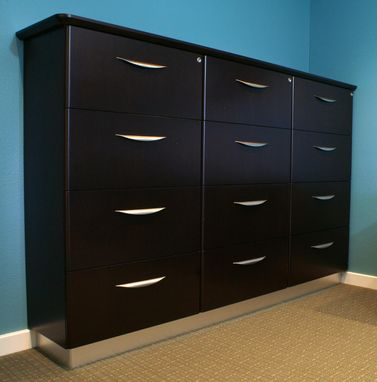 Custom Made Contemporary Lateral File
