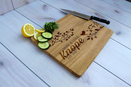 Custom Made Personalized Cutting Board, Engraved Cutting Board, Custom Wedding Gift – Cb-Wo-Knope