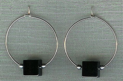 Custom Made Hoop Earrings