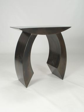 "Custom Made Furniture Table Metal Sculpture ""Table A"""