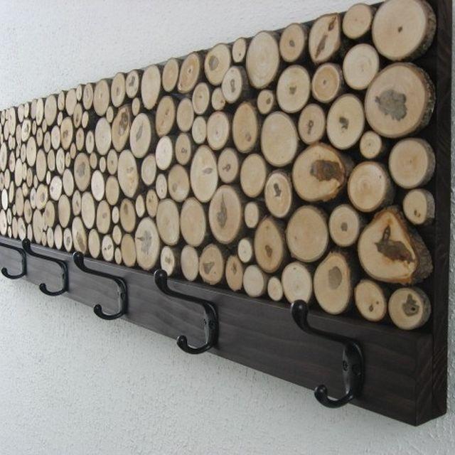 Custom Rustic Wood Coat Rack Towel Rack By Modern Rustic Art LLC Mesmerizing Coat Rack Plans Woodworking Projects