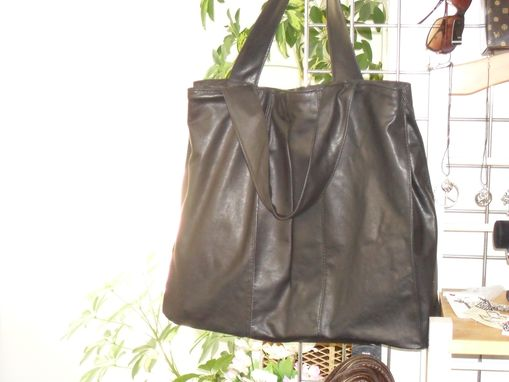 Custom Made City Bag Cowhide Leather Laptop Bag
