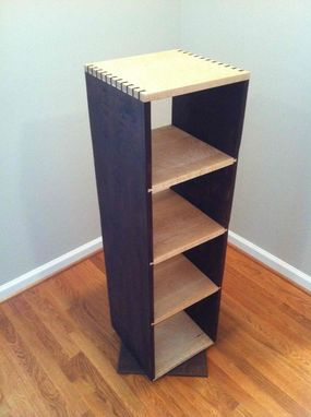 Custom Made Rotating Bookcase Project
