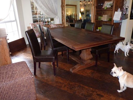 Custom Made Rustic Dining Table Made From Reclaimed Pine