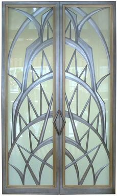 Custom Made Art Deco Doors
