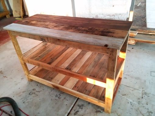Custom Made Country Kitchen Island