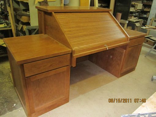 Custom Made Roll Top Desk