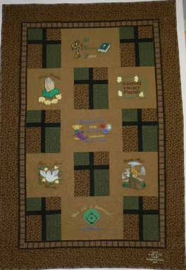 Custom Made Custom Father Joe's Tribute Quilt