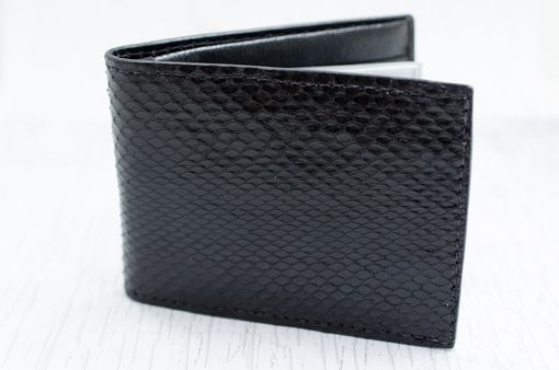 Custom Made Snake Skin Wallet