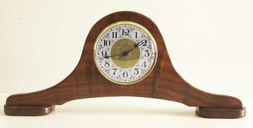 Custom Made Koa Mantle Clock