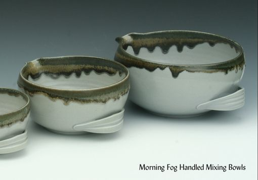 Custom Made Handled Mixing Bowls