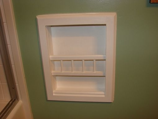 Custom Made Mr-6 Bevel Frame In-The-Wall Magazine Rack