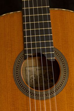 Custom Made Redwood And Oregon Myrtle Classical Guitar