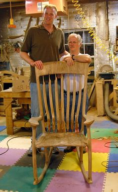 "Custom Made Rocking Chairs For ""Tall People"""