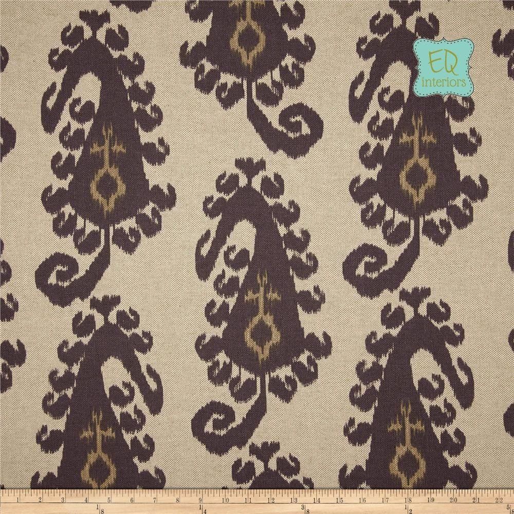 Designer curtain panels - Custom Made Custom Designer Curtain Panels Lacefield Taj Ikat Smoke Gray 90 L X 50