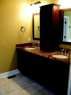 Custom Made Cherry Bathroom Vanity