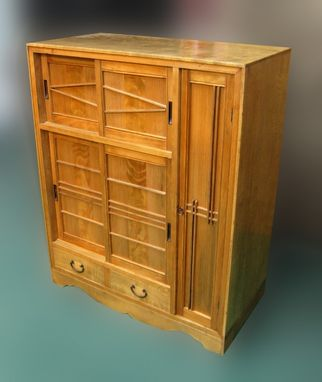 Custom Made Tansu Gentleman's Cabinet