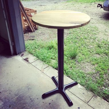 Custom Made Bistro Style Table
