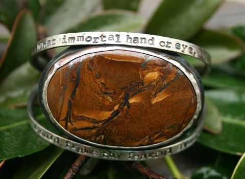 "Custom Made ""What Immortal Hand...."""