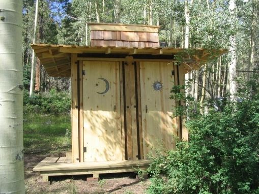 Custom Made Japanese Styled Outhouse