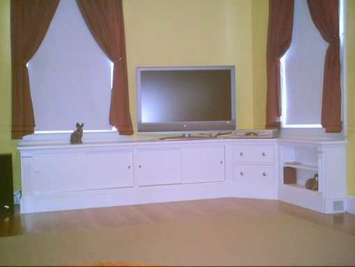 Custom Made Low Profile Cabinet System
