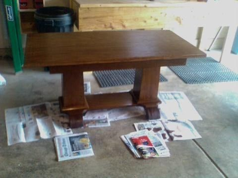 Custom Made Library Table