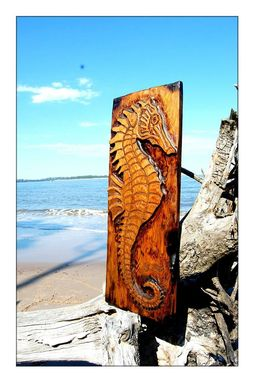 Custom Made Seahorse In Cypress