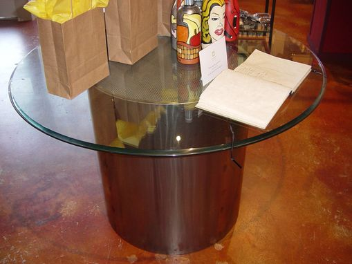 Custom Made Stainless Table Base
