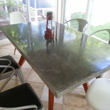 Custom Made Concrete Patio/Dining Table