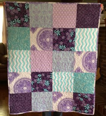 Custom Made Custom Blocked Baby Quilt