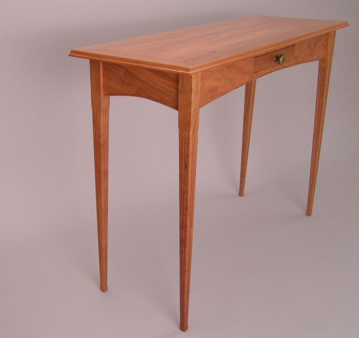 cherry sofa table. Custom Made Cherry Hall-Sofa Table Sofa N
