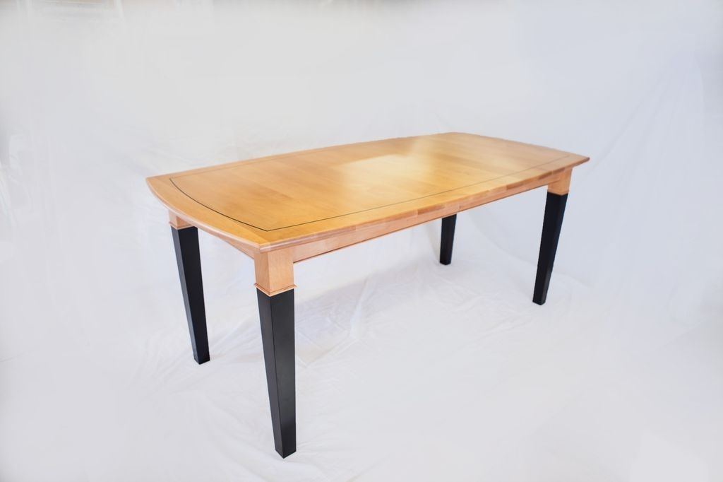 Hand Crafted Maple Dining Table By Colorado Fine Woodworks
