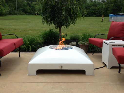 Custom Made Patio End Table/Propane Tank Enclosure