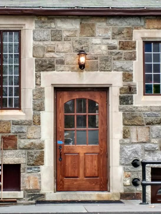 Hand Made Insulated Exterior Door by Wm Pinion Fine Furniture ...