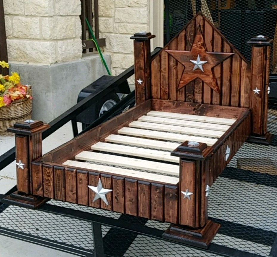 Buy A Hand Made Toddler Bed Made To Order From Saddle