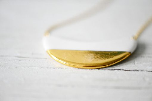 Custom Made Gold Dipped Crescent Wave