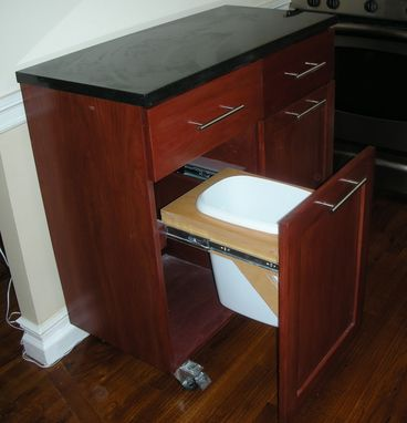 Custom Made Mobile Kitchen Island