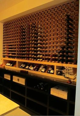 Custom Made Private Wine Cellar 2