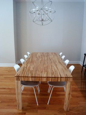 Custom Made Parsons Dining Table