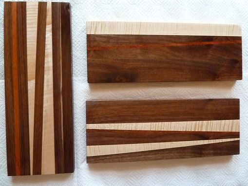 Custom Made Edge Grain Cutting Board, Carving Board, Food Prep Board, Counter Top